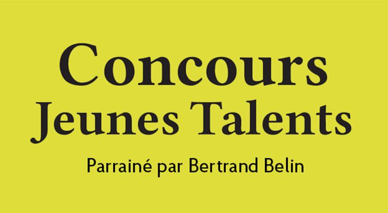Concours Jeunes Talents Édition 2020