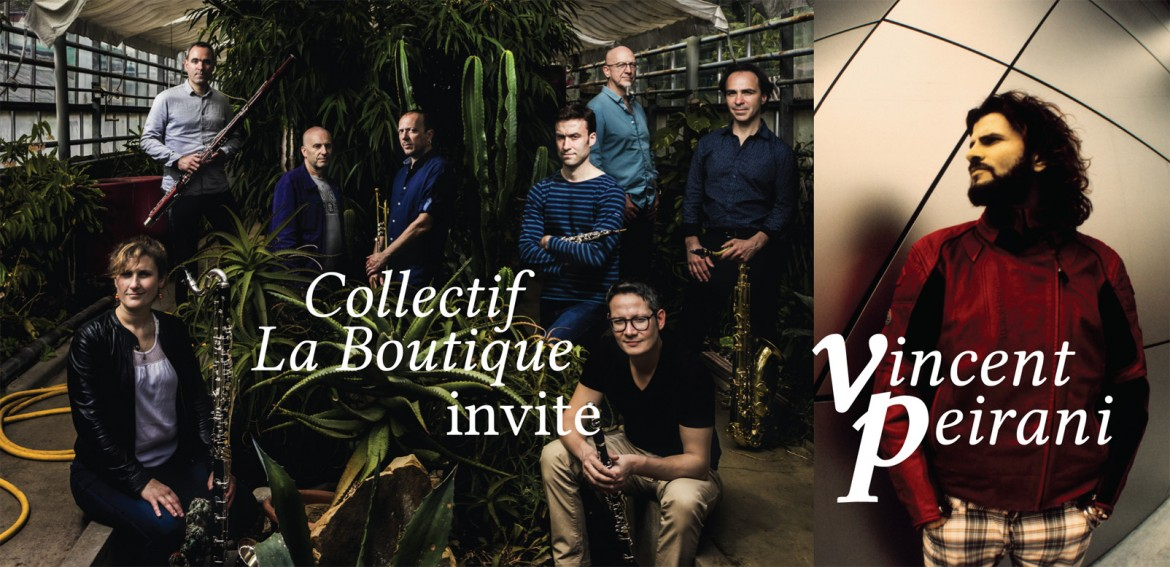 Collectif La Boutique I Vincent Peirani