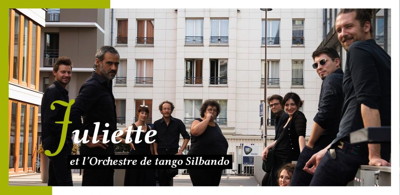Juliette & l'orchestre de tango Silbando