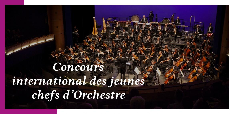Finale du 57ème concours de jeunes chefs d'orchestre